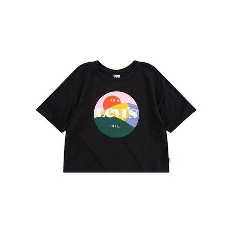 T-shirt, High Rise - Sort - Levi's Kids