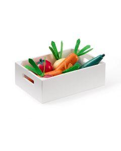 Grøntsags kasse - Kid´s concept