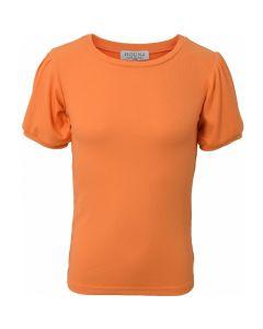 Basic t-shirt m. puf ærmer - Orange - Hound