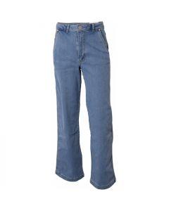 Wide Jeans - Blå vasket - Hound