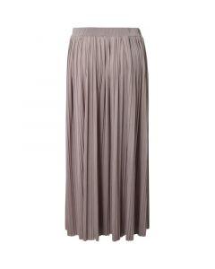 Plisseret nederdel - Latte - Hound
