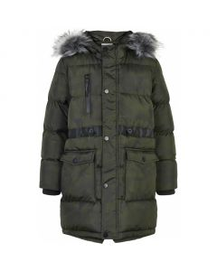 Jakke, Parka - Army - Pige - The New