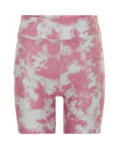 Cykelshorts, Nelly - Tie dye - Pink, hvid - Cost:bart