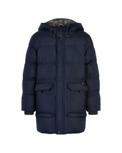 Jakke, Parka - Navy - Dreng - The new
