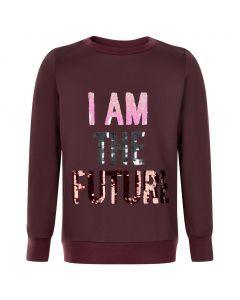 Sweatshirt - Future - Bordeaux _ The New