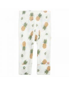 Leggings, Ananas - Hvid - Katvig