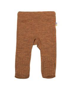 Bukser m. fødder - Caramel Melange - JOHA