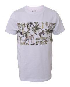 T-shirt - Jungle - Hvid - Hound