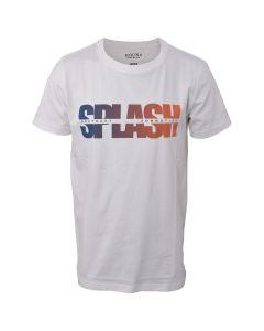 T-shirt - Splash - Hvid - Hound