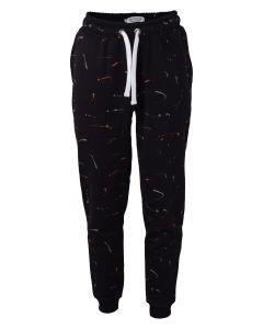 Sweat bukser, Paint - Sort - Hound