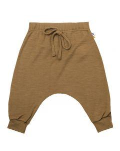 Bukser, uld, silke - Kanel - JOHA