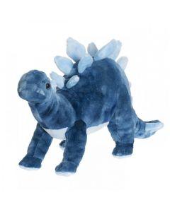 Dinosaur, Blå, Stegosaurus - Teddykompaniet