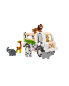 Zoo Bil m. dyr - Pull Back - Magni