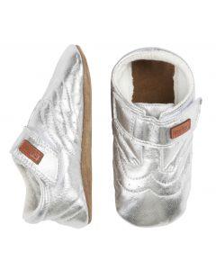 Sko, læder - Sølv - Unisex - Move