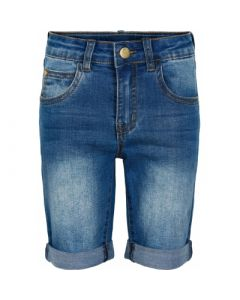 Shorts m. længde - Denim - Pige - The New