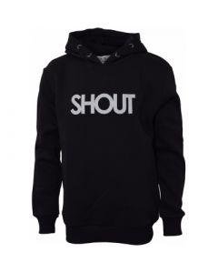 Hoodie, Shout - Sort - Dreng - Hound