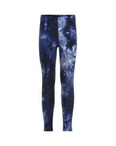 Leggings, Tie dye - Navy - The new