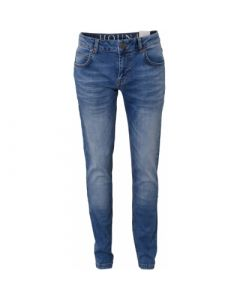 Jeans, Straight - Used blue denim - Dreng - Hound