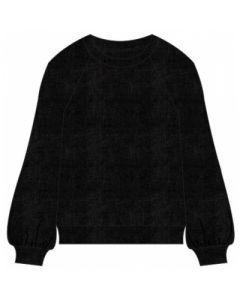 Bluse - Velour - Sort - Cost:bart