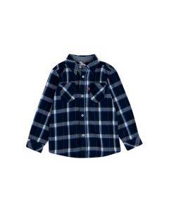 Skjorte, Tern - Blå/Hvid - Levi's Kids