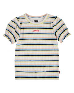 T-shirt, Ribbed - Buttercream - Levi's Kids