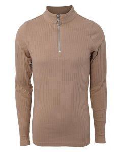 Basic zip top - Creme - Hound