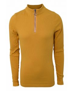 Basic zip top - Dusty Yellow - Hound