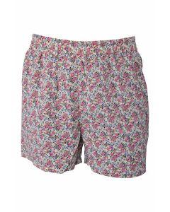 Shorts - Rød, blomst - Hound