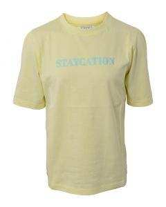 T-shirt, Staycation - Gul - Hound