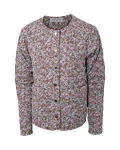 Quilted jakke - Blomster - Hound