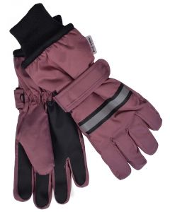 Handsker, Thinsulate - Bordeaux - Pige - Mikk-Line