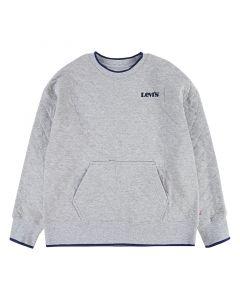 Sweatshirt, Quilted - Grey Heather - Levi's Kids