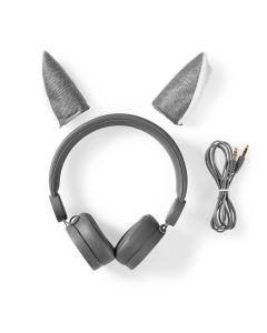 Høretelefoner, Kidyears - Wolf Grey - KIDYWOLF