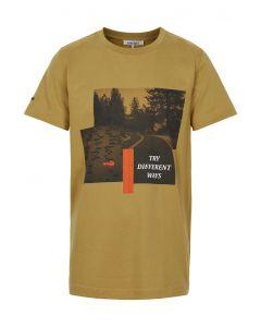 T-shirt m. tekst - Brun - Cost:bart