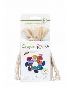 Crayon Rocks, hvid pose m/ 16 stk. - Skovalfen