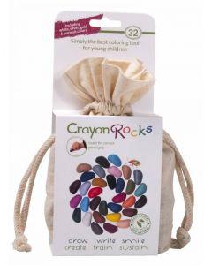 Crayon Rocks, hvid pose m/ 32 stk. - Skovalfen