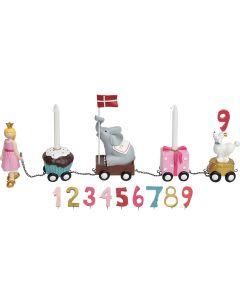 Fødselsdagstog, Prinsesse - Kids by Friis