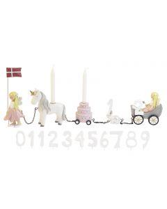 Fødselsdagstog, Blomsterfeer - Kids By Friis