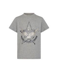 T-shirt - Guitar - Grå, sølv - Sofie Schnoor Girls