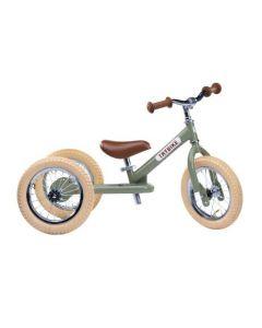 Løbecykel, 3 hjul, Vintage green - Trybike
