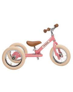 Løbecykel, 3 hjul, Vintage rosa - Trybike.
