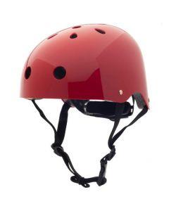 Cykelhjelm, Retro Rød, medium - Trybike