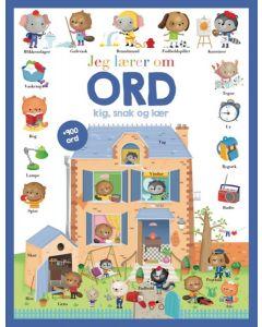 Bog, Jeg lærer om ORD - Kig, Snak og Lær - Colours By CPH