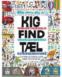 Opgavebog, Kig, Find, Tæl - Byen - Colours By CPH