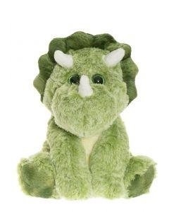 Dino, siddende, Grøn - Teddykompaniet