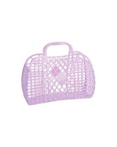 Retro Basket, Large - Lilla - Sun Jellies
