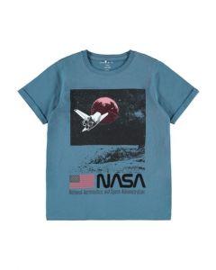 T-shirt, Nasa - Real teal - Name it.