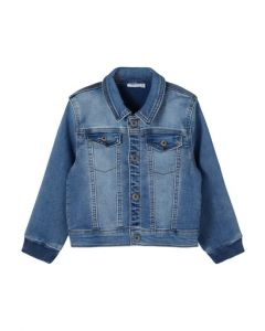 Jakke, Madeas - Denim - Dreng - Name it.