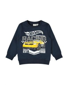 Sweat bluse, Hot wheels - Navy - Name it.