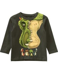 Bluse, Gigantosaurus - Grøn - Name it.